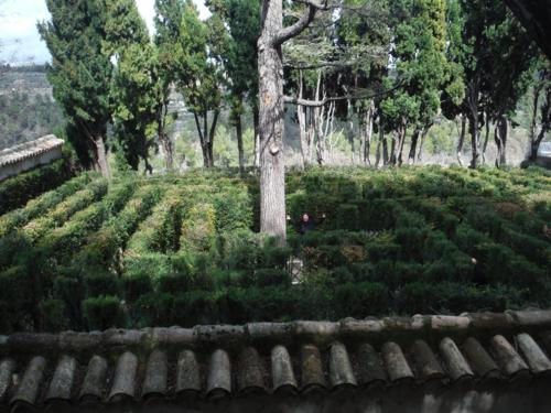 Jard n de santos pen guila parte 3 de 3 el laberinto y c mo llegar hasta lla cantimplora verde Jardin laberinto