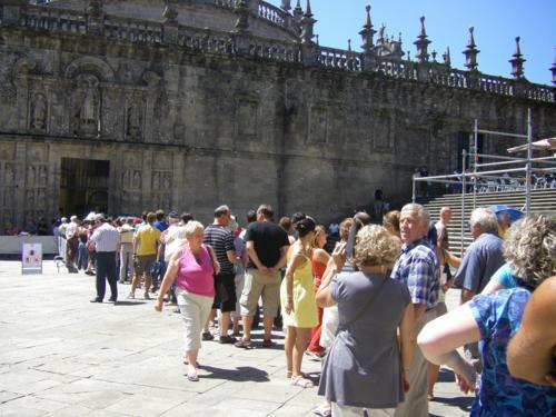 ¿Por qué en 2016 la Puerta del Perdón de la Catedral de Santiago está abierta si no es Año Jubilar Jacobeo?