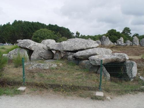 Alineamientos megalíticos de Carnac en la Bretaña Francesa