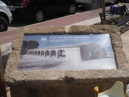 El mercado del Riurau de Jesús Pobre (Alicante)