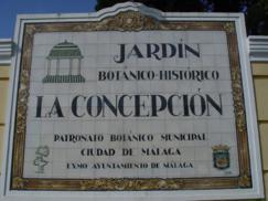 Jardín Botánico Histórico La Concepción (Málaga)