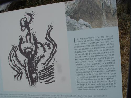 Pinturas Rupestres del Santuario del Pla de Petrancos