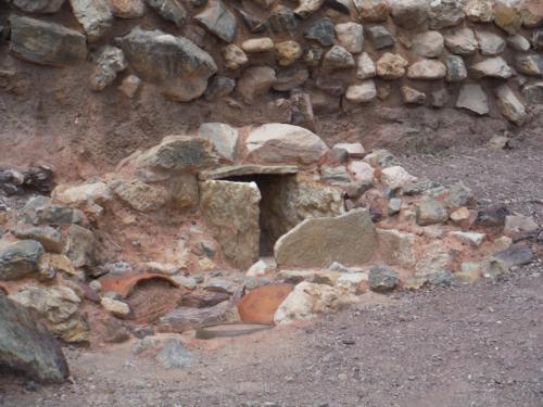 yacimiento argárico de La Bastida en Totana