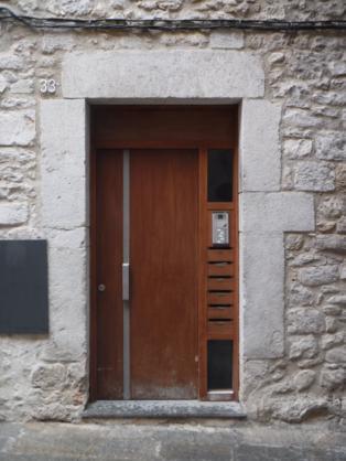 Las mezuzot en Girona capital